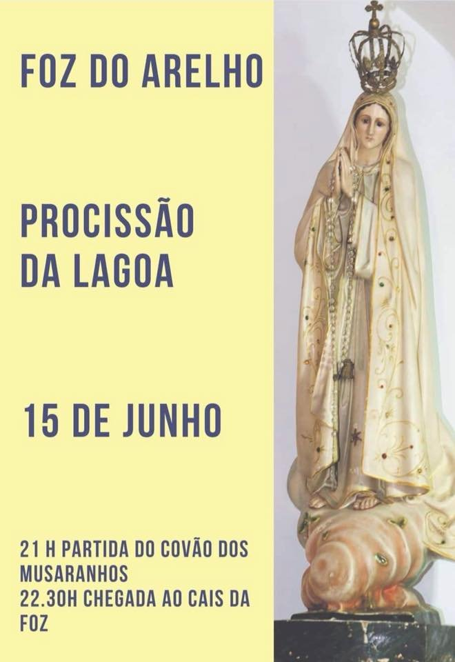 Procissão da Lagoa | Lagoa de Óbidos/Foz do Arelho