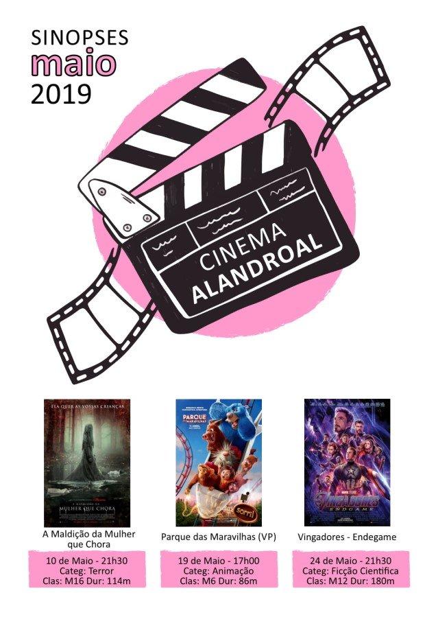 Cinema Alandroal - maio