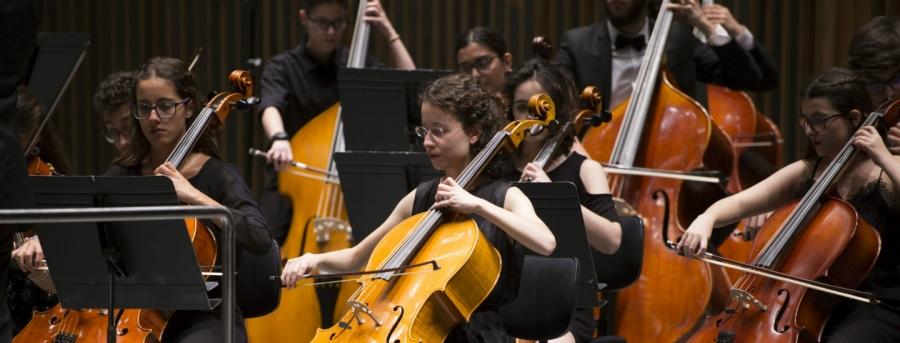 VIII Estágio Nacional da Orquestra Sinfónica de Jovens AMCC