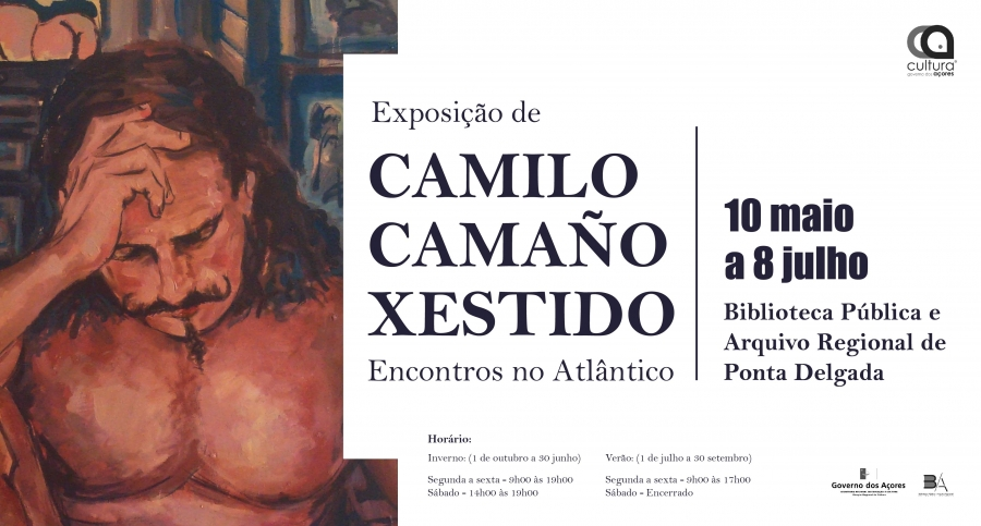 """Exposição - """"Encontros no Atlântico"""" de Camilo Camaño Xestido"""