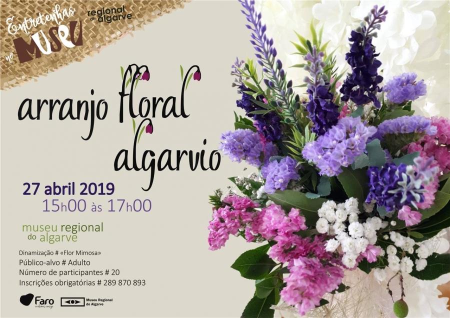 Entretenhas no Museu - Arranjo Floral Algarvio