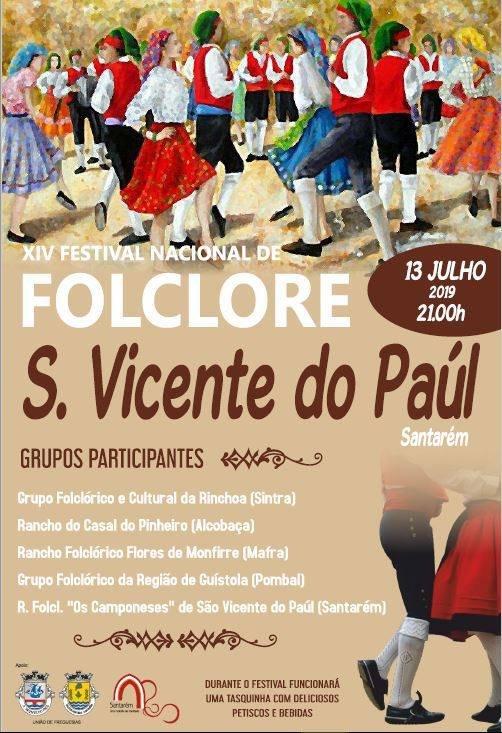 XIV Festival Nacional de Folclore S. Vicente do Paúl