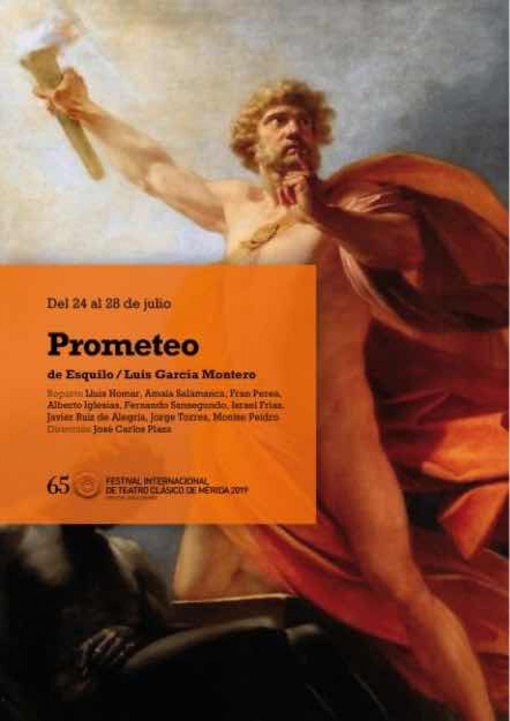 Prometeo. Festival Internacional de Teatro Clásico de Mérida