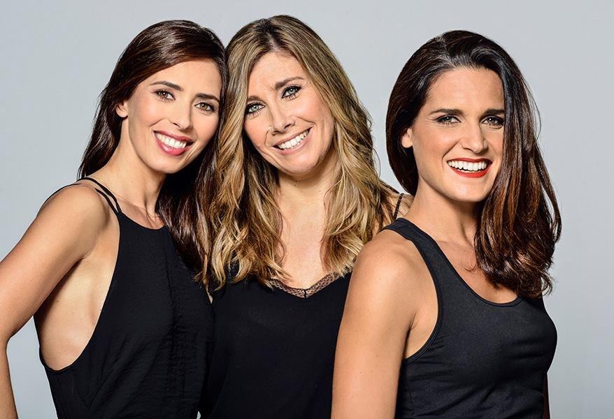 Joana Machado, Marta Hugon e Mariana Norton