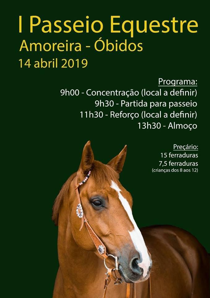 I Passeio Equestre  Amoreira | Óbidos