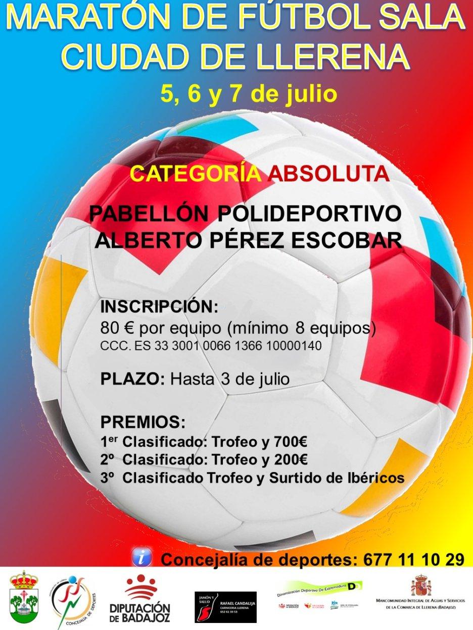 Maratón de Fútbol Sala Ciudad de Llerena