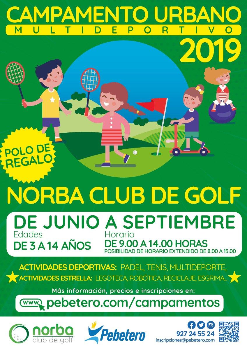 Campamento Urbano – Norba Club de Golf 2019