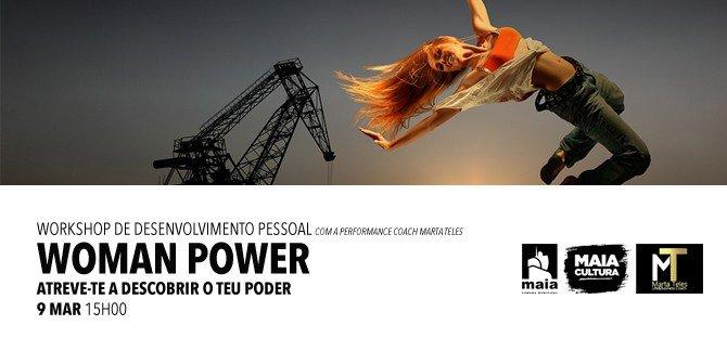 Workshops DESENVOLVIMENTO PESSOAL com a performance coach MARTA TELES