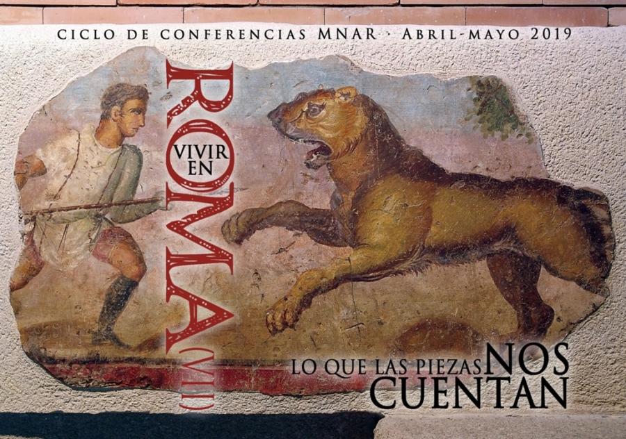"""Ciclo de conferencias Vivir en Roma VII: """"Las pinturas del Anfiteatro"""""""