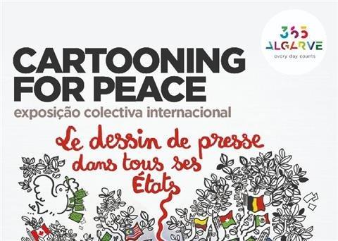 Exposição Cartooning for Peace