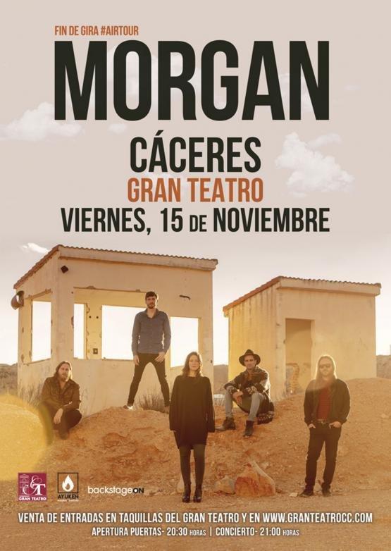 AIR TOUR 2019.  MORGAN