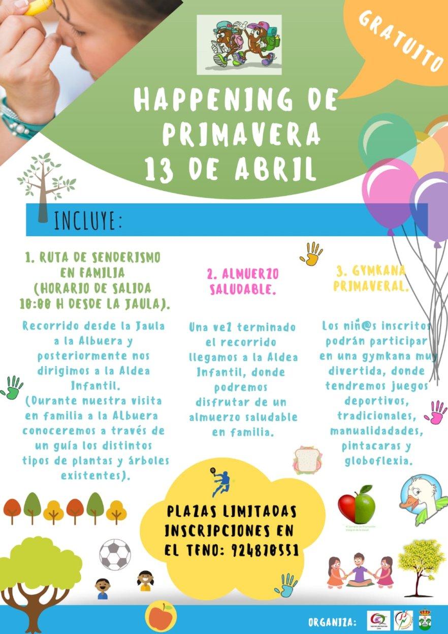 I Happening de Primavera en Llerena
