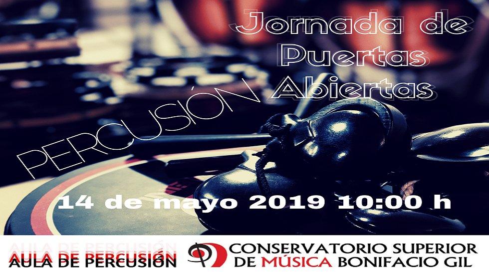 Jornada de Puertas Abiertas Percusión – Conservatorio Superior de Badajoz