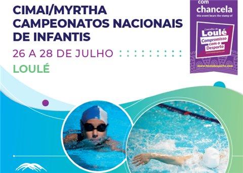 Natação - Campeonato Nacional de Infantis
