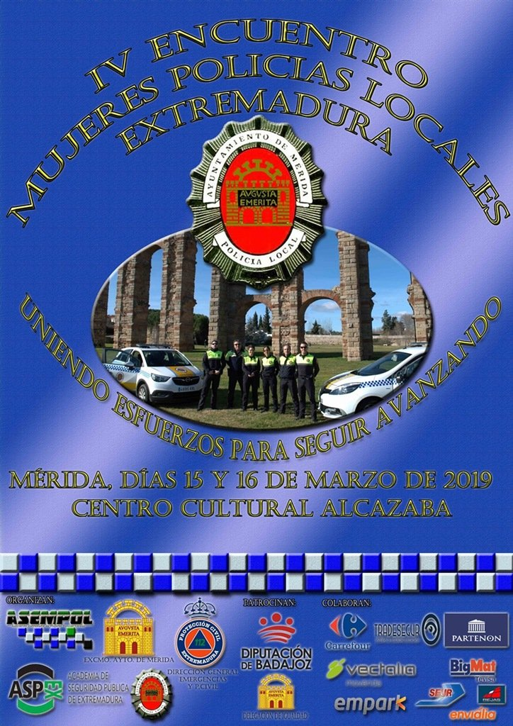 IV Encuentro Mujeres Policías Locales de Extremadura