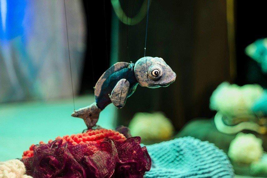 Teatro de Marionetas - O Cardume I Workshop de Marionetas - Do ...