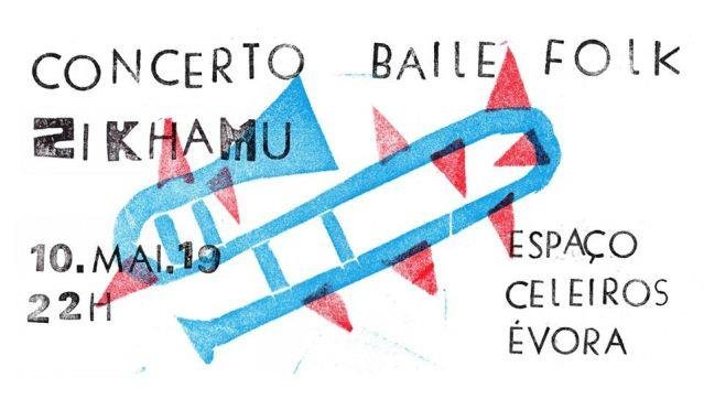 Concerto Baile Folk com Zikhamu
