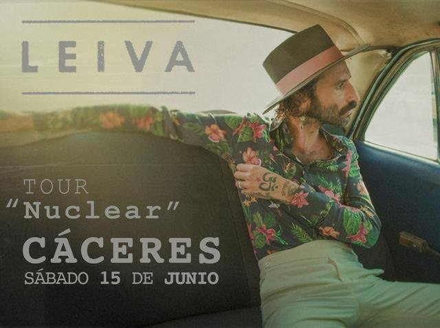 Concierto de Leiva en Cáceres