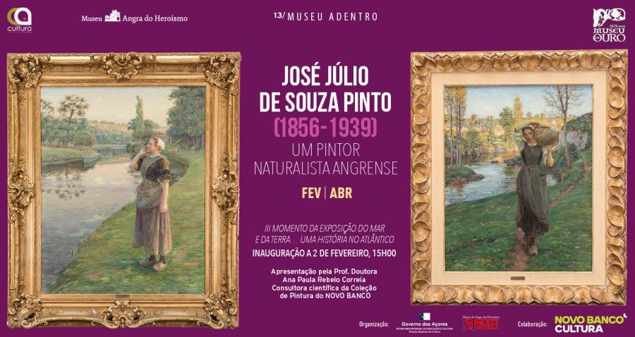 Museu Adentro 13: José Júlio de Sousa Pinto(1856-1939)| um Pintor Naturalista Angrense