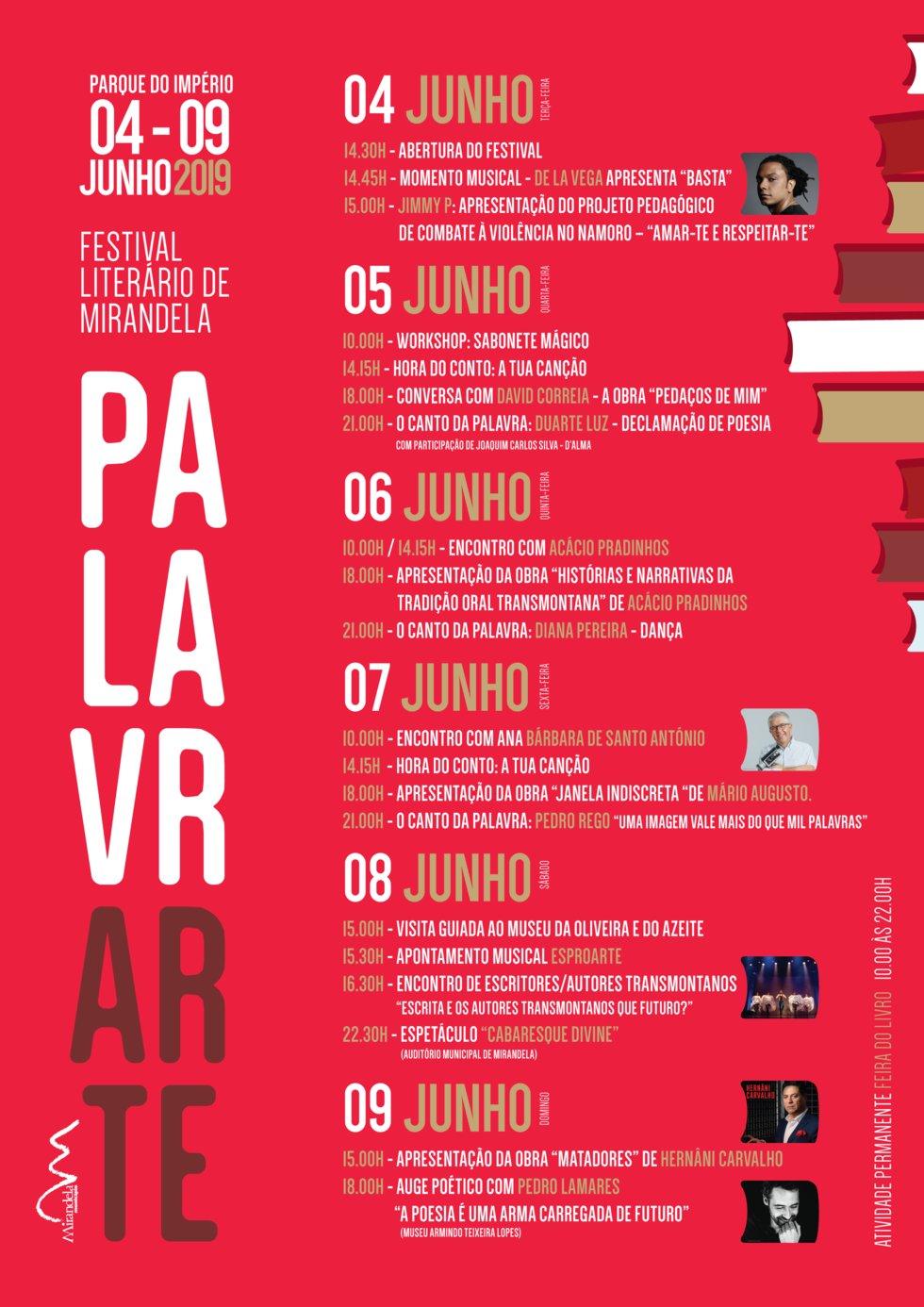 Programa Palavrarte - Festival Literário de ...