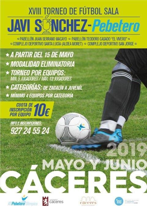 XVIII Torneo de Fútbol Sala Javi Sánchez