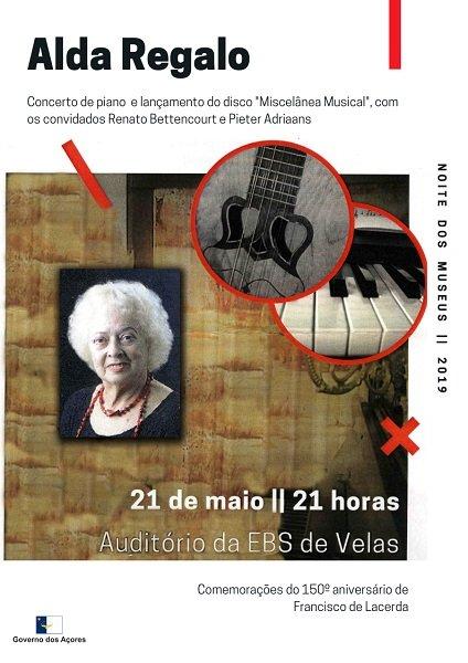 Noite dos Museus - Concerto de piano e viola da terra