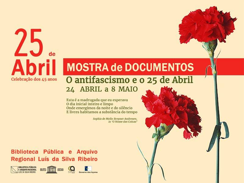 O antifascismo e o 25 de abril