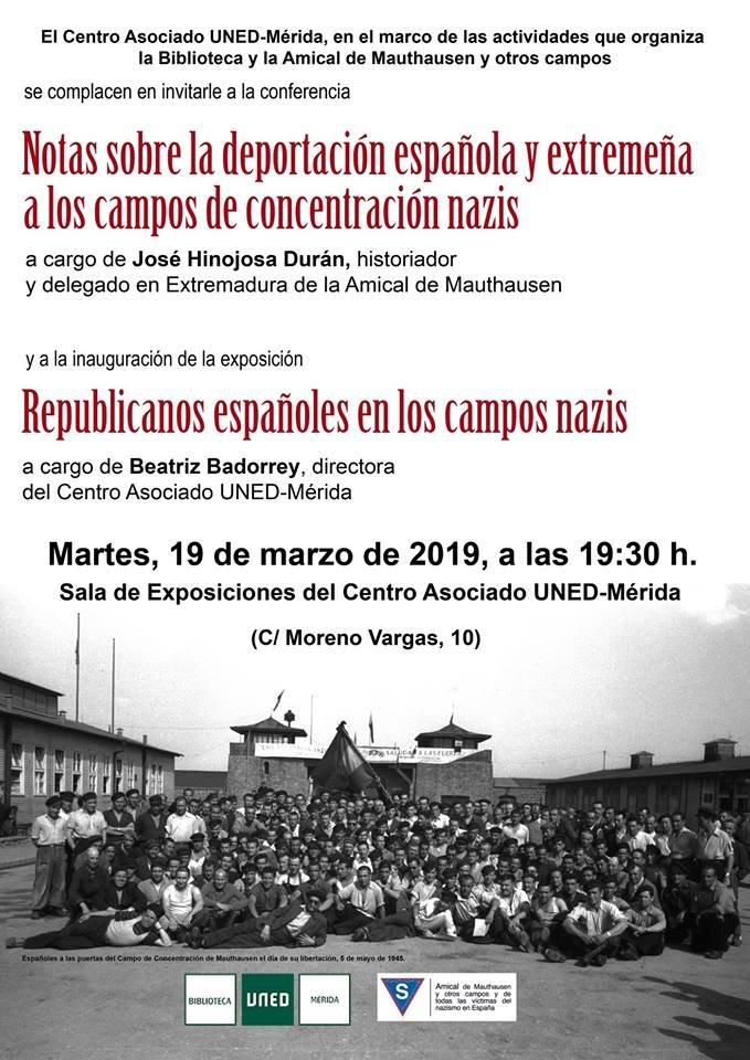 Exposición 'Republicanos españoles en los campos nazis'