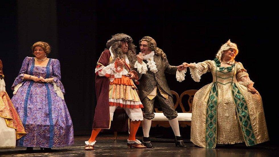 El Burgués Gentilhombre - Noches de verano. Teatro y música