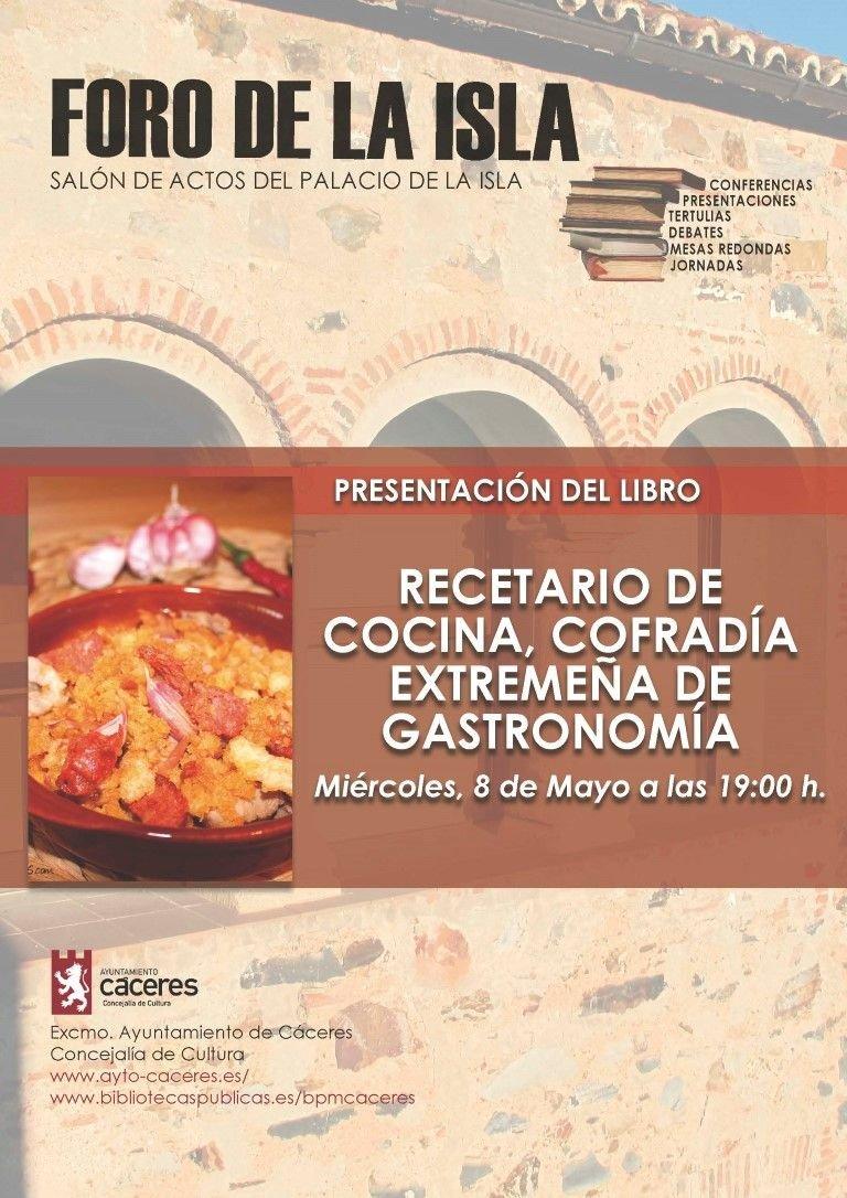 Presentación Libro: Nuevo Recetario de Cocina Extremeña