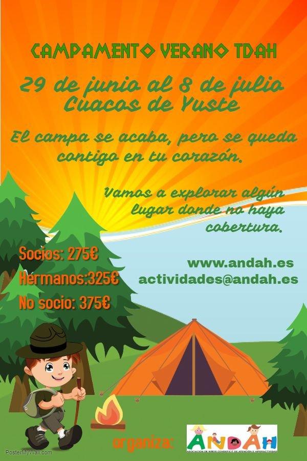 Campamento de Verano TDAH