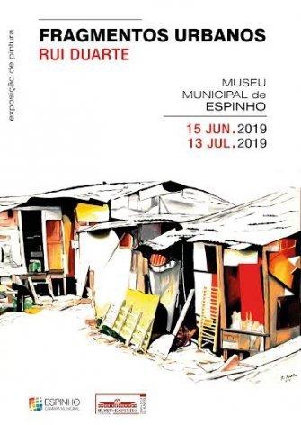 Exposição 'Fragmentos Urbanos' de Rui Duarte