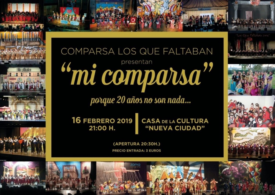 Actuación Comparsa Los Que Faltaban (20 aniversario)