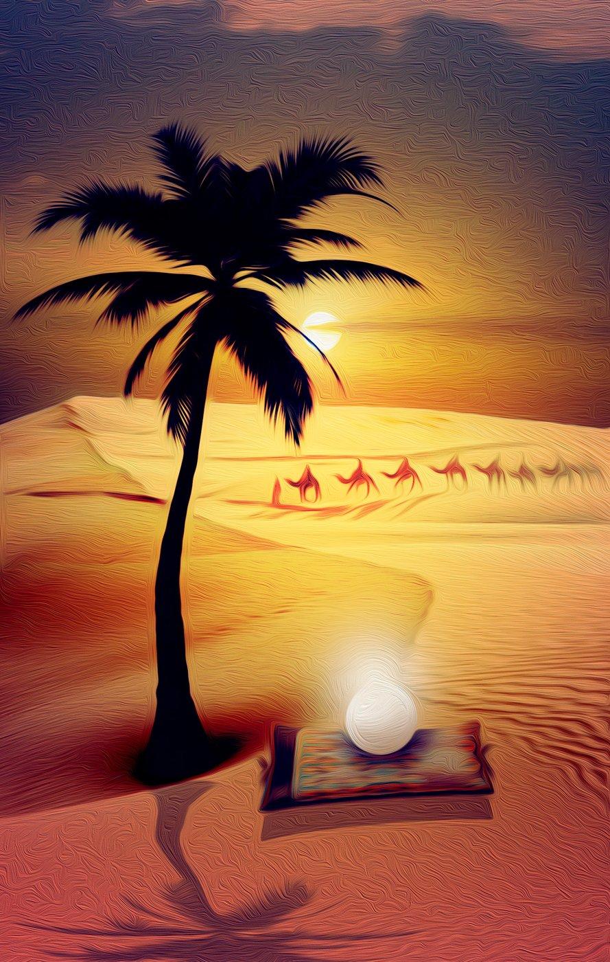 A Pérola do Deserto Azul