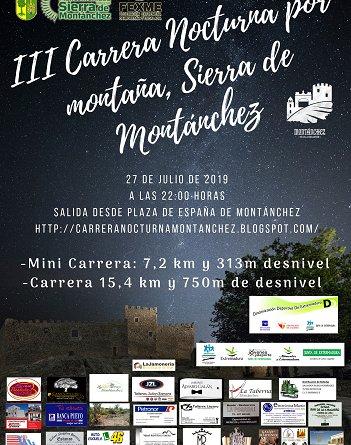 III Carrera por Montaña Nocturna Sierra de Montánchez