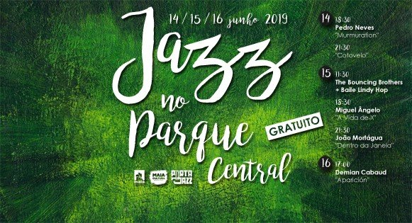 Jazz no Parque Central da Maia