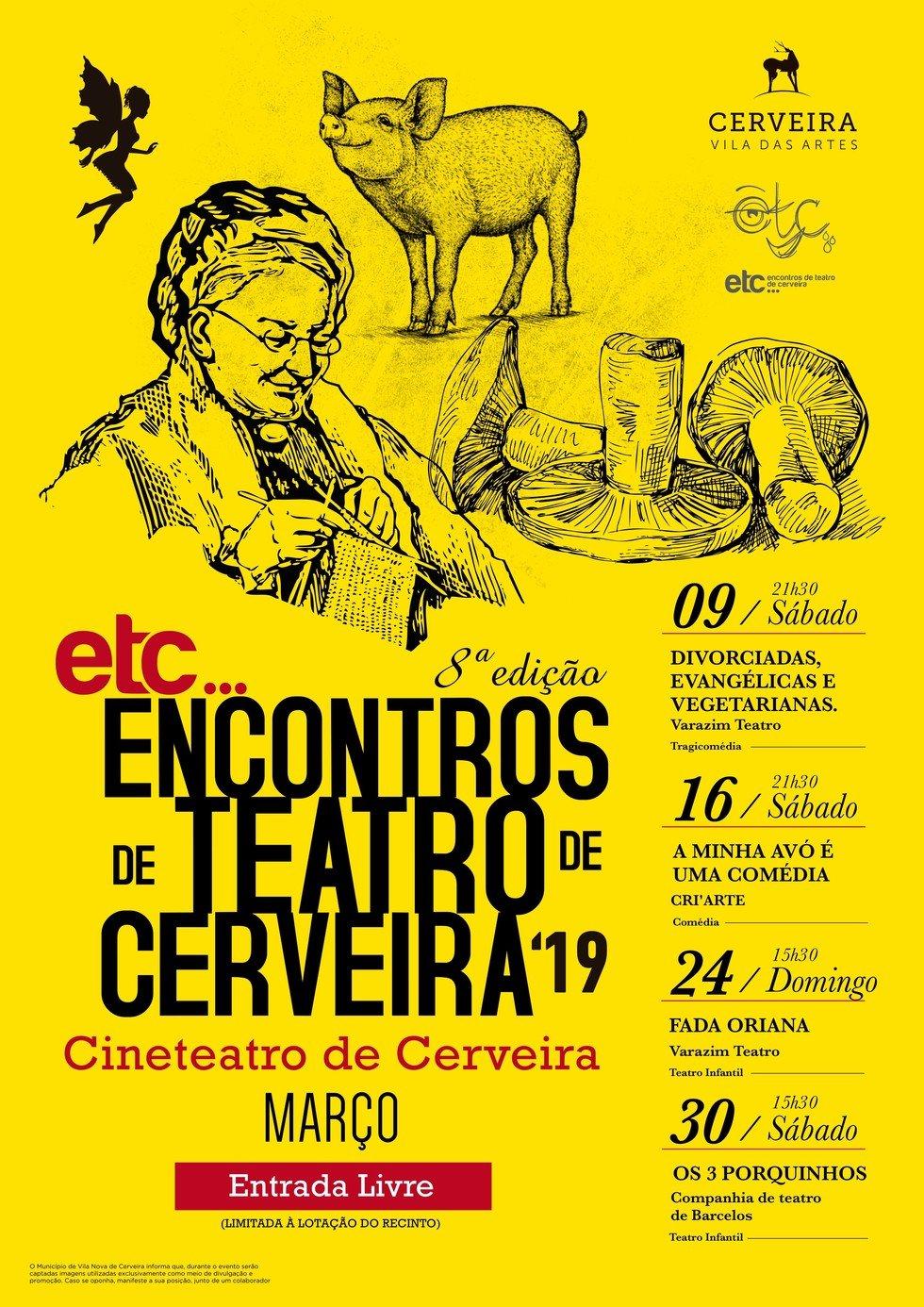 'ETC...Encontros de Teatro de Cerveira'