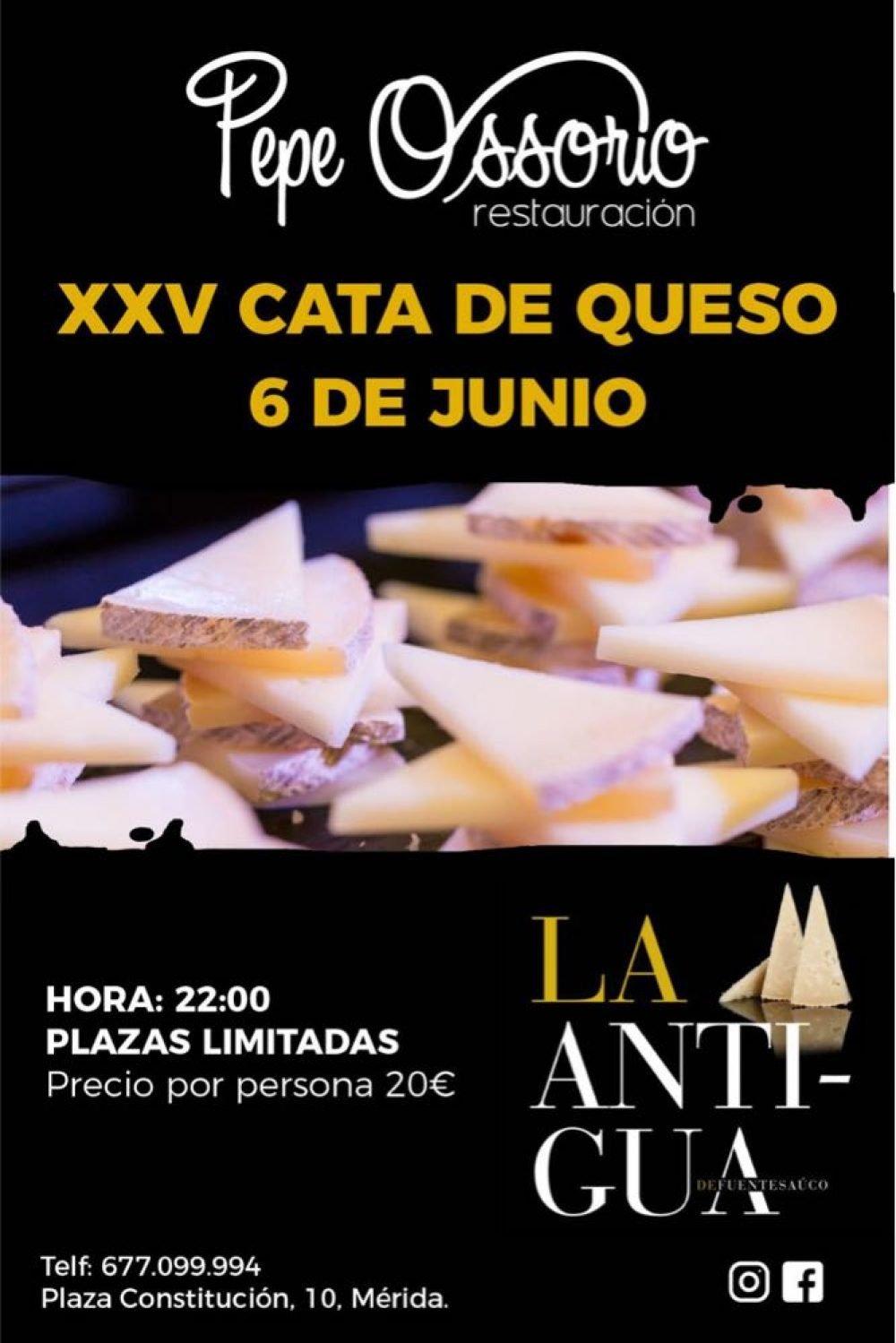 XXV Cata de queso