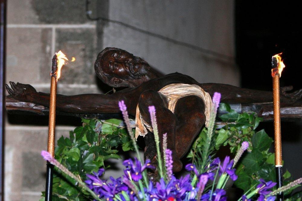 Procesión del Cristo Negro (Miércoles Santo)