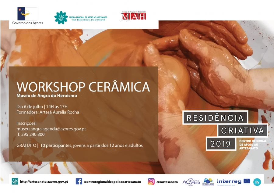 Workshop de Cerâmica