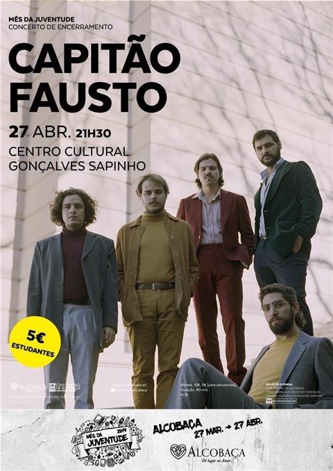 música :: Capitão Fausto - Mês da Juventude
