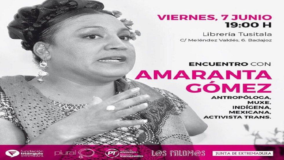 Encuentro con Amaranta Gómez