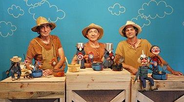 A Galinha Azul   Mar-Marionetas 2019