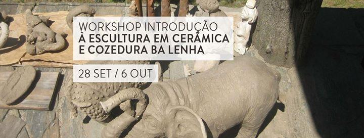 Workshop de Introdução à Escultura em Cerâmica