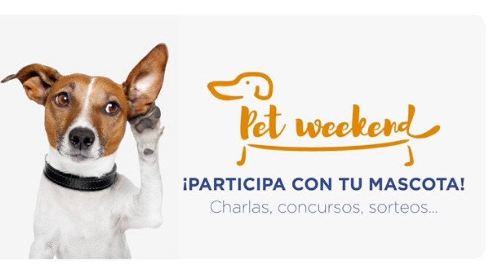 Mascotas \'Pet Weekend\'