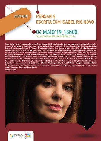Pensar a escrita... com Isabel Rio Novo