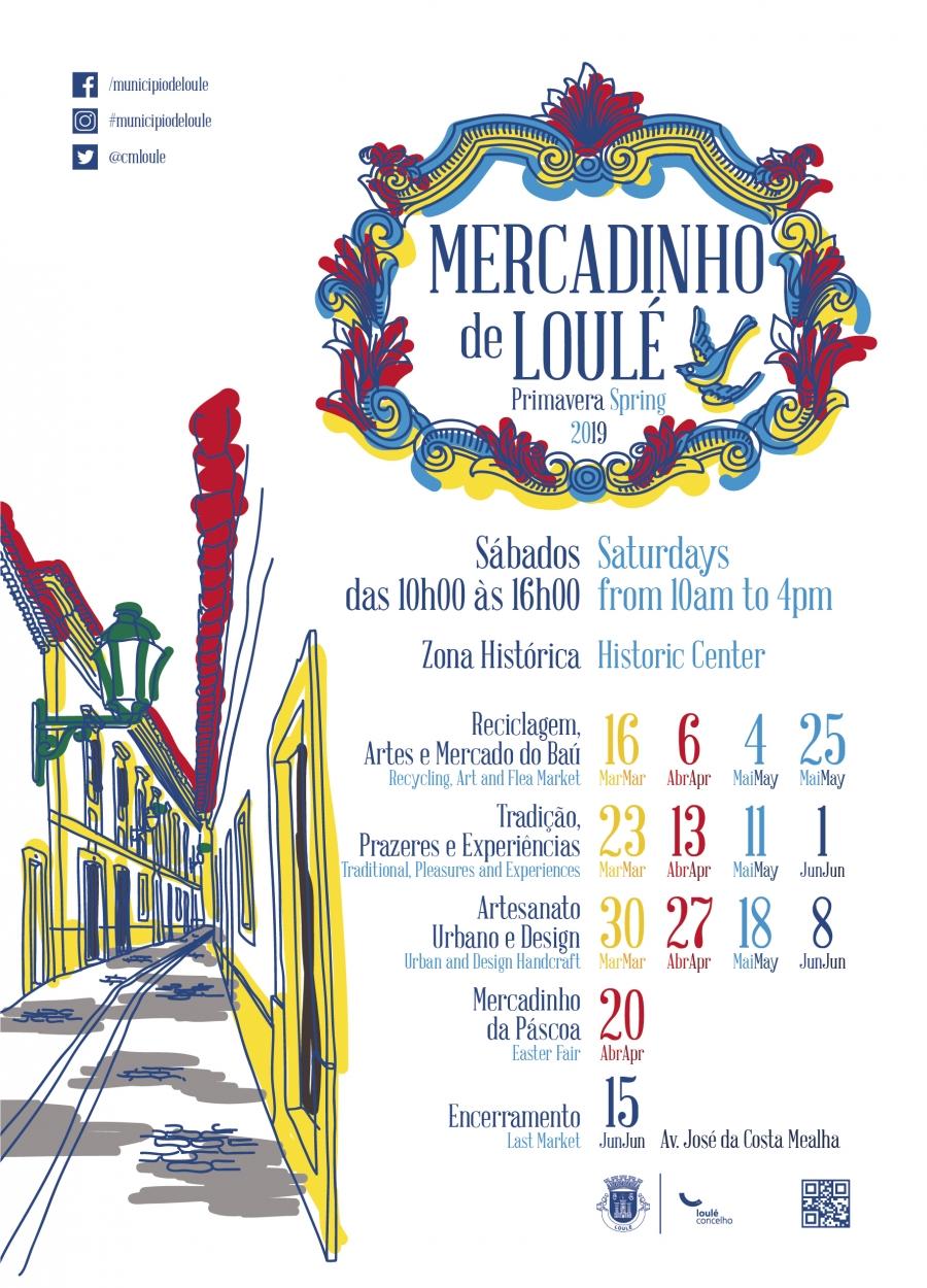 Mercadinho de Loulé - Primavera 2019