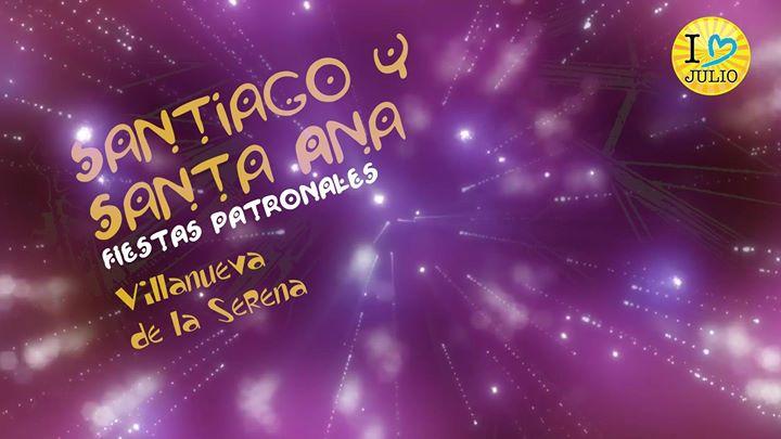 Fiestas patronales de Santiago y Santa Ana 2019