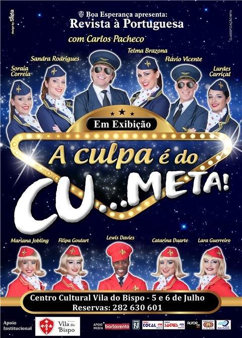 "Revista à Portuguesa  ""A Culpa é do Cu…meta"""