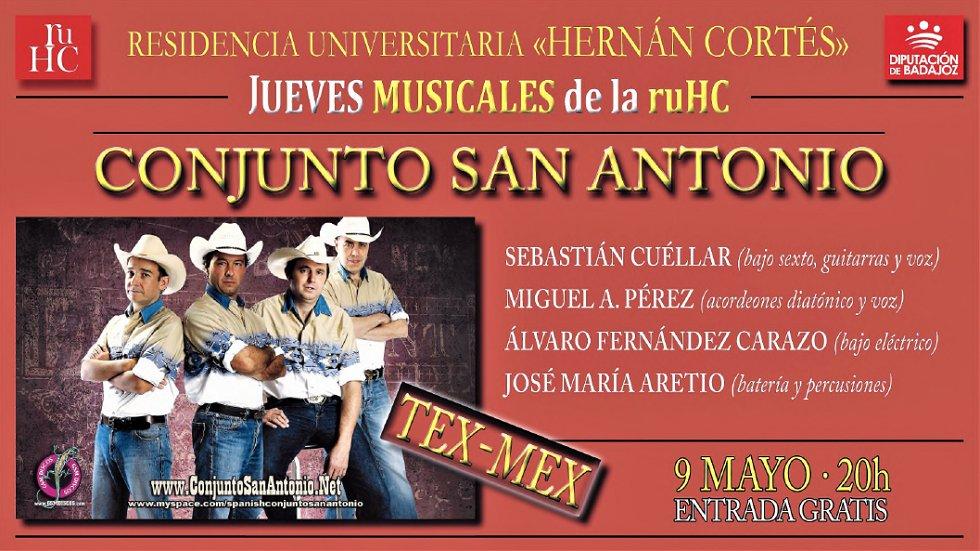 Conjunto San Antonio – Música en la RUHC
